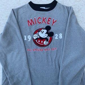 """Disney Mickey crewneck """"all around nice guy"""""""